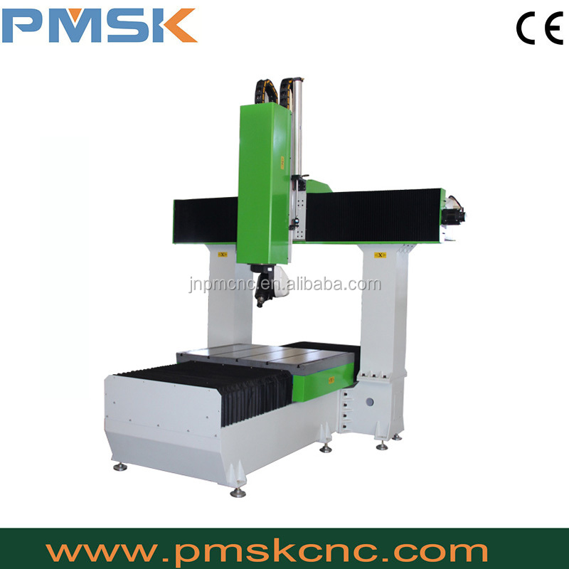 Italy HSD spindle servo motor 3d cnc milling machine 5 axis cnc machine processing center for mold and 3d work