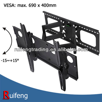 VESA 690x400mm Full Motion TV Wall Mount