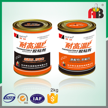 New design customized top quality nanometre high-temperature resistant epoxy adhesive