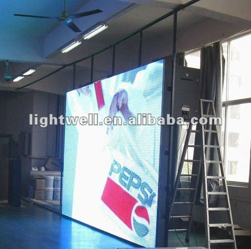 hot sale P10mm outdoor full color advertising flexible moving LED display