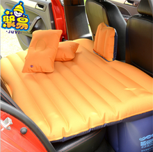 2017 Top sale sleeping car aid bed inflatable flocked travel car air bed