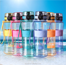 Wholesale colorful heat resistant Eco Friendly & BPA-Free Leak-Proof Sports Water Bottle