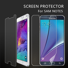 Phone accessory high qualityanti-fingerprinting matte screen protector for galaxy note 5 anti-glare screen shield