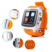X01 android smart watch phone with touch display, 3G smart watch phone Mtk 6572 with camera phone watch
