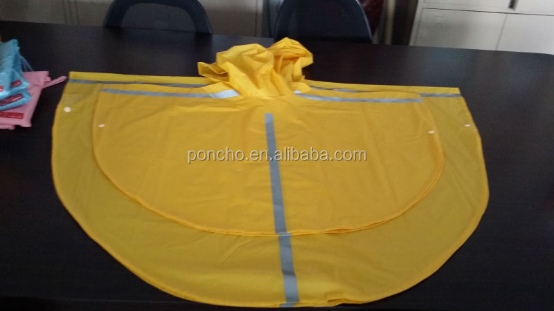 Promotional Waterproof High Quality Rain Poncho For Bicycle 2014 New