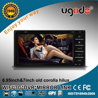 ugode 7inch HD Android universal TOYOTA corolla hilux RunX car gps navigator