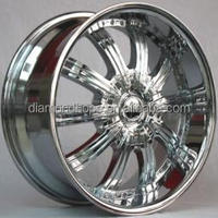 "6x139.7 rims chrome car alloy wheel rims 20"" 22"" 24"" 26""(ZW-S113)"