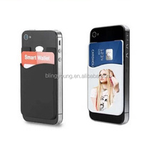 Customized Print Smart Phone Accessory 3M Handphone Card Holder