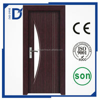 2016 alibaba new type doors interior OEM design ce certifaicate pvc wooden door