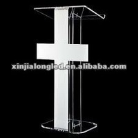 Factory Made Acrylic Church Platform Acrylic Church Pulpits Pulpits for Churches