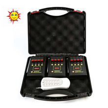 DB04r-12 Guaranteed 100%, the 3rd generation receiver 150m remote control 12 channels consumer fireworks firing system