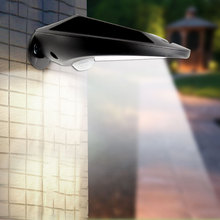 Hotsell product outdoor Solar powered Motion Sensor led Light Waterproof ip65 Outdoor Wall Mounted street Light
