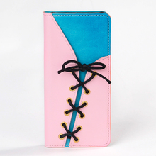 Jeans Pattern Folio Stand Flip Leather Phone Case for Samsung Galaxy S8