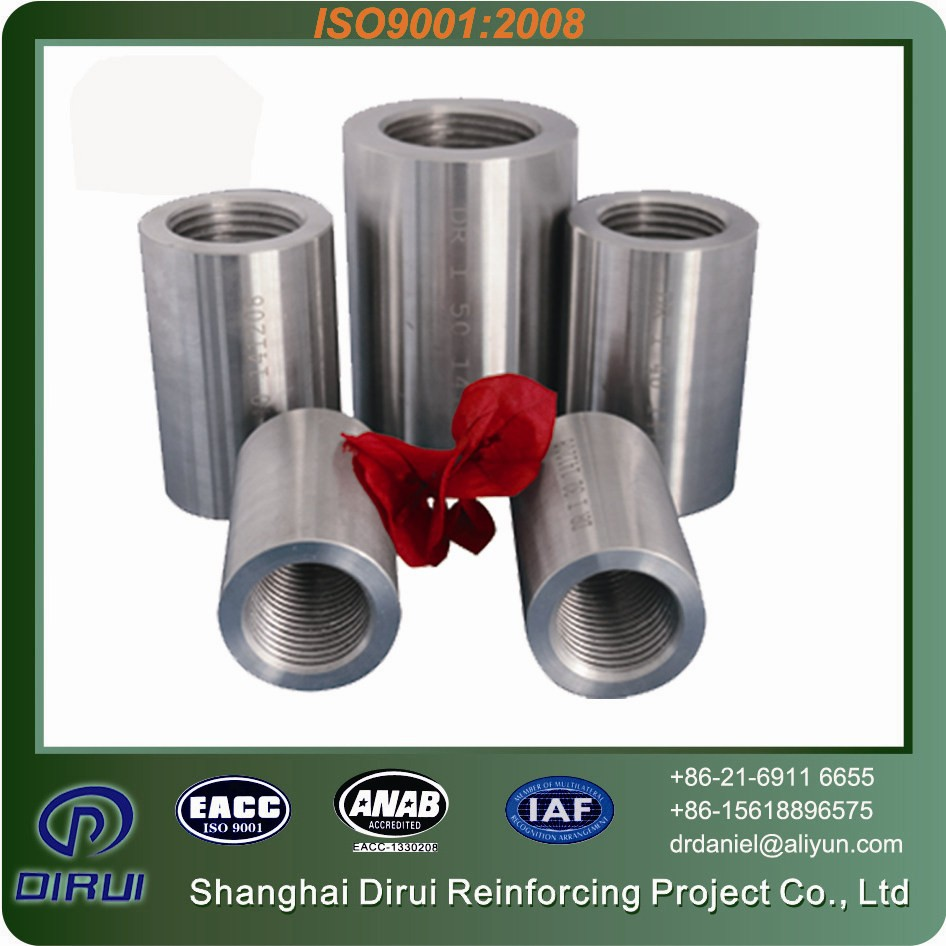 Sales promotion earthquake-proof 25mm rebar connector rebar splices for bridges steel construction