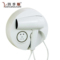 Most Powerful Wall Mounting Commerical Hotel bathroom Hair Dryer