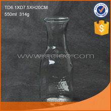 Different sizes of hot selling nice glass feeding bottle/baby's bottle,with handle