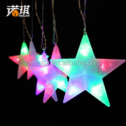 wholesale copper wire led christmas string light waterproof copper Christmas RGB colorful various typesled light string
