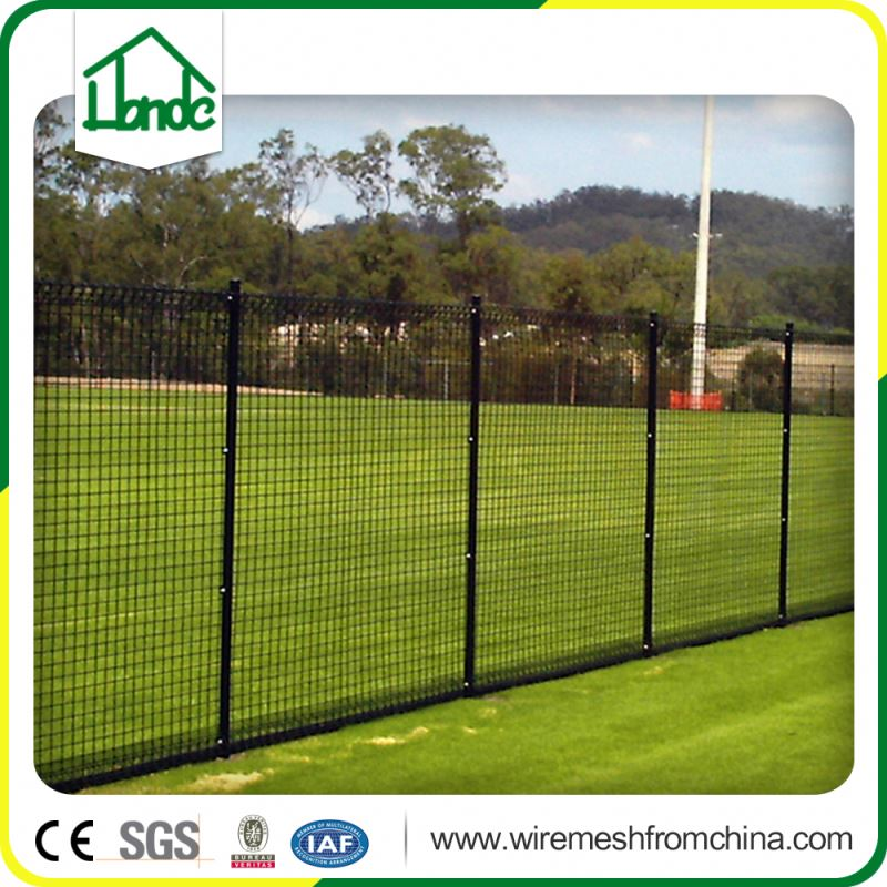 stainless steel wire chain link fence panel for road