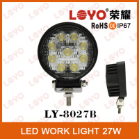 "2015 New 4"" 27W led driving light for off road 4x4 utv jeep used , 27watt led work light"