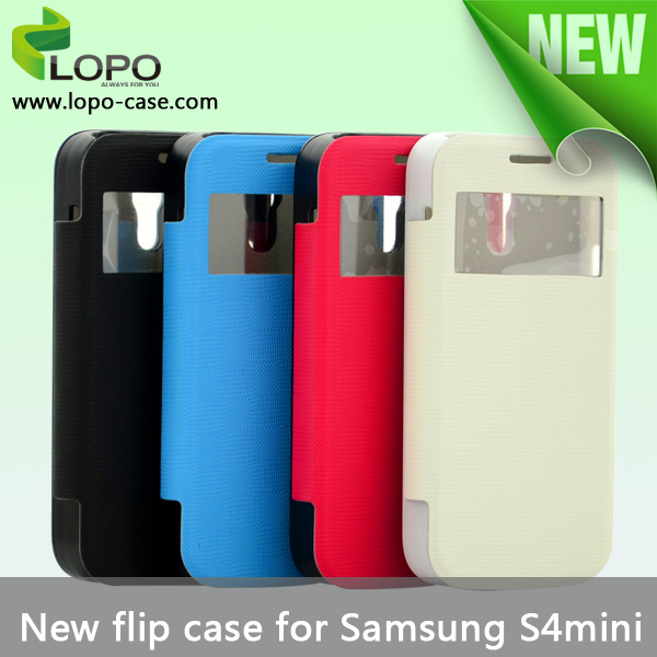 Sublimation flip cell phone case for Samsung Galaxy S4 Mini