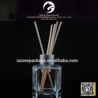 100ml clear glass wholesale reed diffuser,Air fresheners reed diffuser