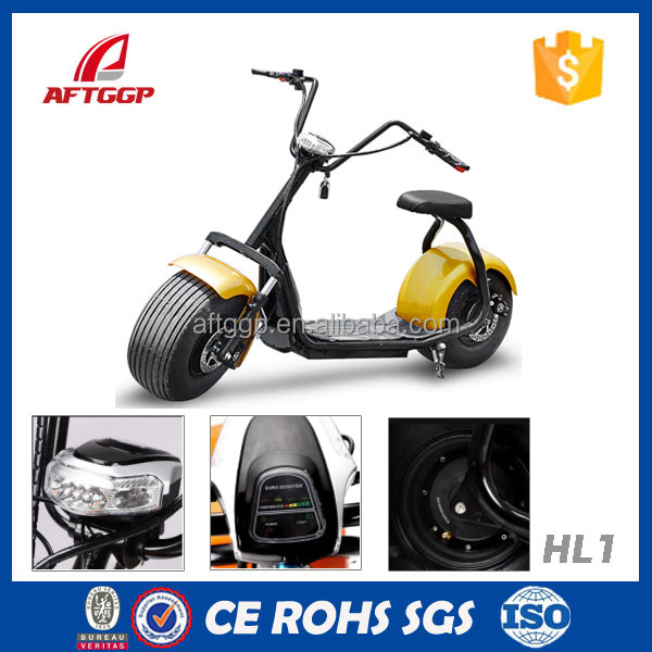 Powerful High Speed Lithium Battery Harley Electric Scooters