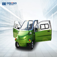 The New Model 4 Wheel 4 Seats 4 Door Electric Car for passenger /2200w Sightseeing Vehicle