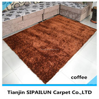 chinese polyester shagy and rugs comfortable silk door carpets