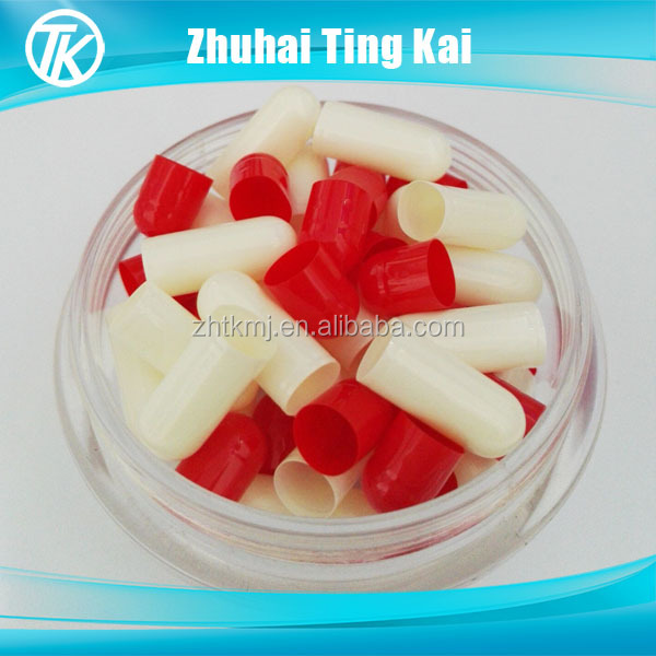 red and white quality control gelatin of capsules