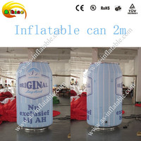 2m inflatable can inflatable liquor bottle for advertising