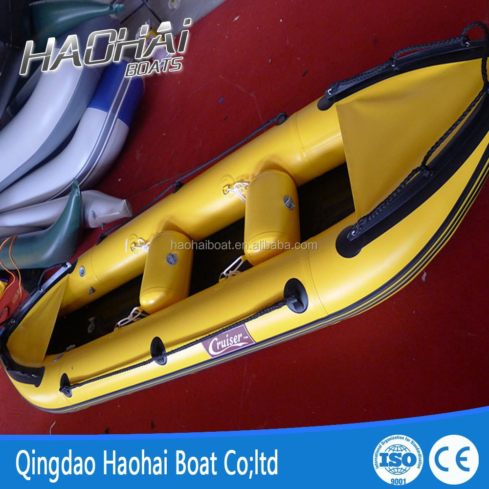 2 persons light pvc inflatable river canoe kayak