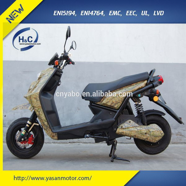 2000W adult electric motorbike 2 wheel scooter with 72V 28Ah Lead-acid battery