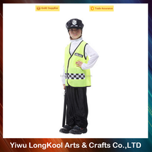 Wholesale hot selling cop costume kids cosplay party fancy police costume
