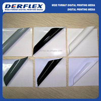 PVC self adhesive vinyl 100mic graphics banner vehicle wrap sticker material