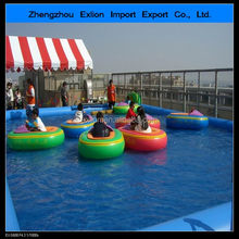 [2014 HOT SALE !!!] water bumper boat for kids water park equipment kids bumper boat battery operated bumper boat