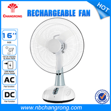 Oscillating H/M/L 3-speed fan Rechargeable Fan For Home