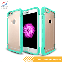 Bulk Cheap Hard Plastic Mobile Phone Case Sublimation Case For iPhone TPU On The Side PC Back Cover For iPhone 6