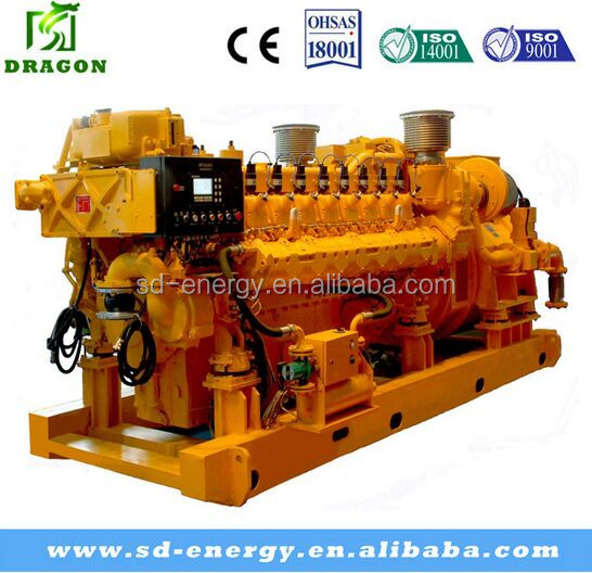 1000kw Synchronous natural gas generator