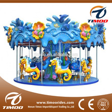 Attractions for children carousel playground equipment roundabout