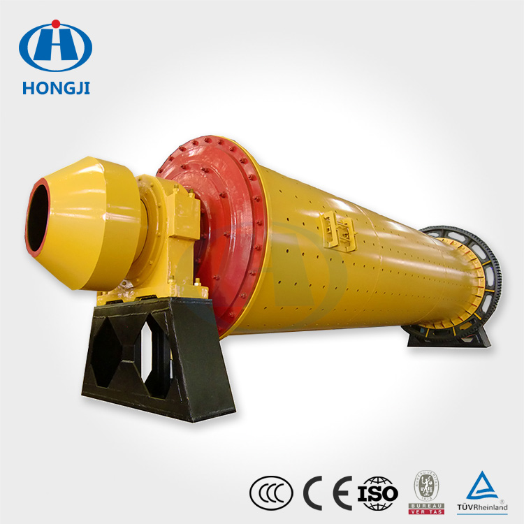 Hongji Factory Price Wet / Dry Grinding Ball Mill