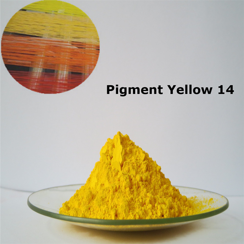 High Colour Strength Pigment Yellow 14 for the Plastic and Textile