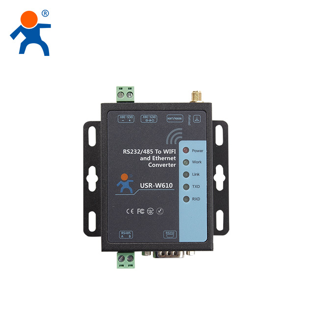 USR-W610 RS485/ RS232 <strong>WiFi</strong> Serial Server, Serial To <strong>Wifi</strong> / Ethernet Converter Support Modbus Gateway
