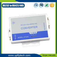 Upfly rs232 485 bnc converter isolation voltage 2500Vrms RS-232 to RS-485/RS-422 industrial serial converter UT-216