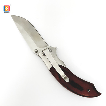 2018 New Item High Quality Wood Handle tools  Camping Hunting Knife