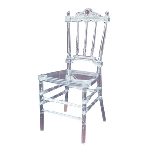 New arrival crystal clear wedding plastic party chair YC-P51