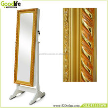 Classical style china supplier jewelry showcase with full length mirror