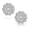 New arrival wholesale price diamond stud earrings for women