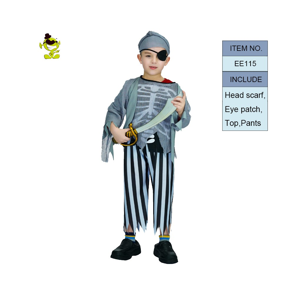 Halloween trang phục cho trẻ em skeleton loạt dress party halloween costume