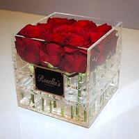 mini clear acrylic gift favor box