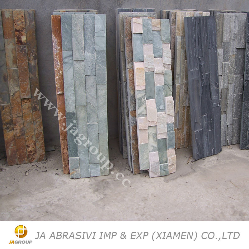 Natural stone slate External wall cladding slate for sale